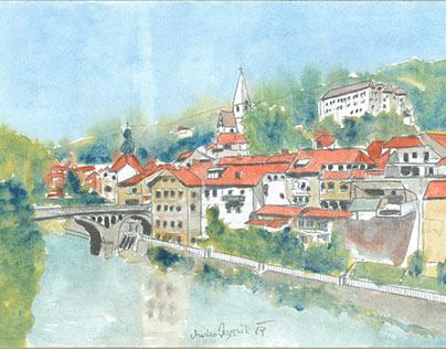 Vedute/Veduten Steiermark Austria