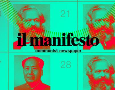 Il Manifesto Integrated Campaign - 40th anniversary