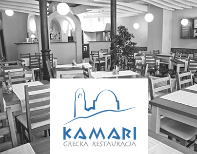 Identity for Greek Restaurant KAMARI