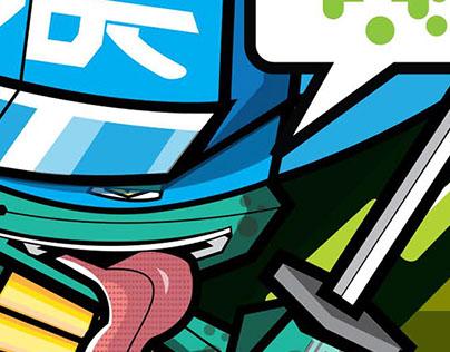 - Turtles Ninja (Vices Ninjas) -