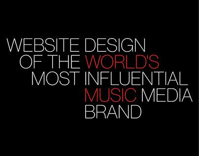 Billboard - Website Redesign