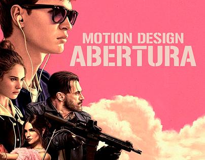 Motion Design ABERTURA BABY DRIVER