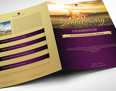 Church Anniversary Program Large
