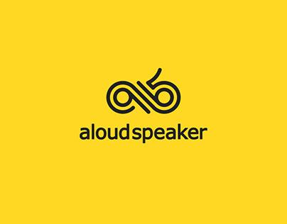 Logo design for Aloud Speaker