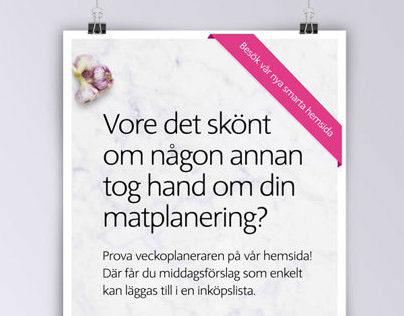 ICA.se | Graphic Design | Campaign