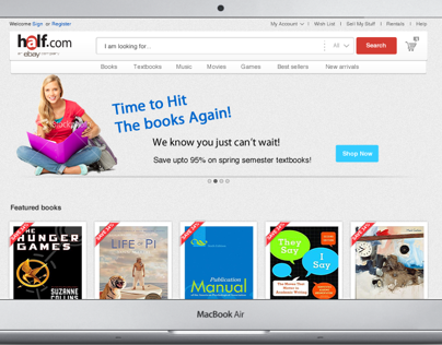 Half.com (An eBay Company) UX Revamp