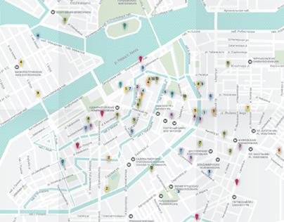St-Petersburg Design Map