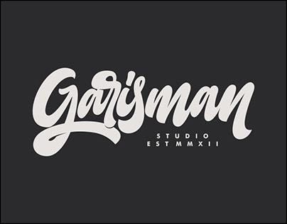 New Logo; Garisman Studio