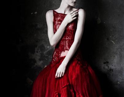 Redness.