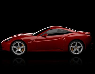 Shell V-Power Nitro+ Ferrari Projection Mapping