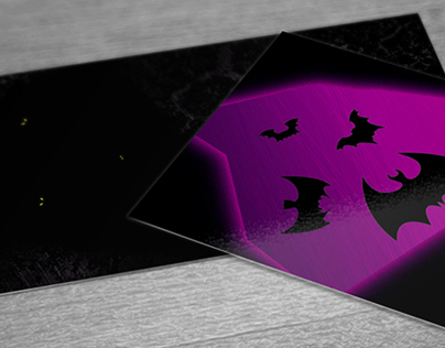 Bats (Illustrated Business Card)