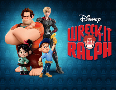 Wreck-It Ralph Youtube Rumble and Online Ad Campaign