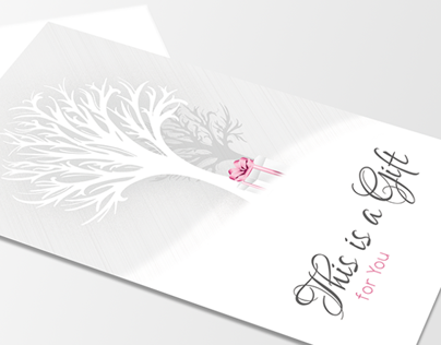 Winter Tree (Illustrated Business Card)