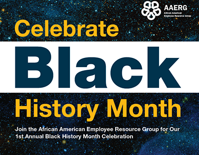 Berkeley Lab Black History Month Celebration Poster