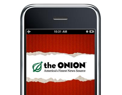 The Onion: iPhone App