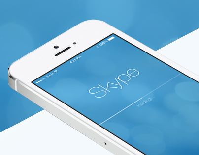 Skype for iOS 7