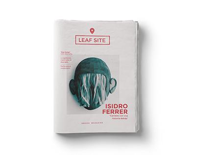 Leaf Site - Magazine