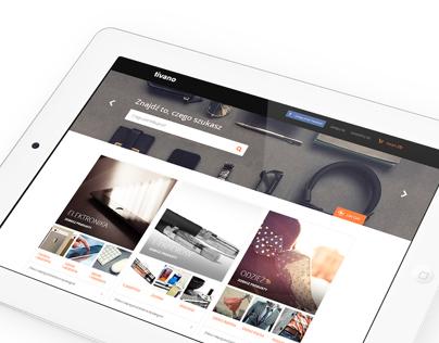 Tivano / Online Store / Webdesign
