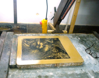 Lithographie   Atelier PONS.