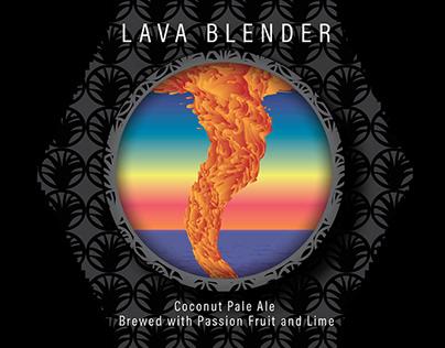 Lava Blender: IPA Label Design Contest Submission