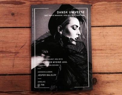 Bachelorproject // DANSK Universe