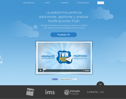 TwinPush Web