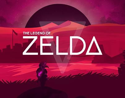 The Legend of Zelda Environment Concept
