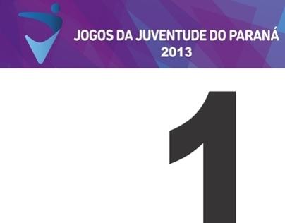 Placa de identificação numérica para atletismo