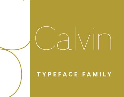 Calvin typeface