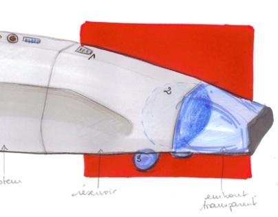 Etude ergonomique d'un aspirateur à main