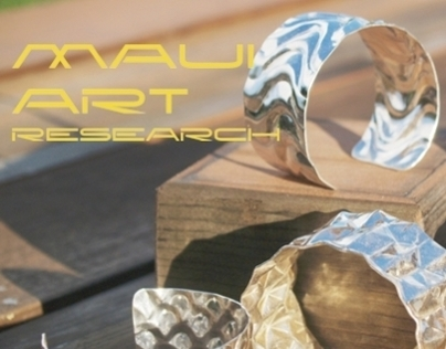 Maui Art Research Pure Silver Jewelry
