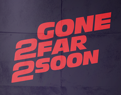 Paul Walker — Gone 2 Far 2 Soon