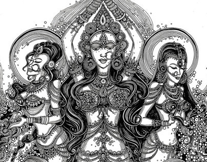 Solah Shringar- 16 adornments of a Hindu Bride