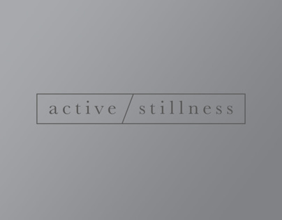 active stillness