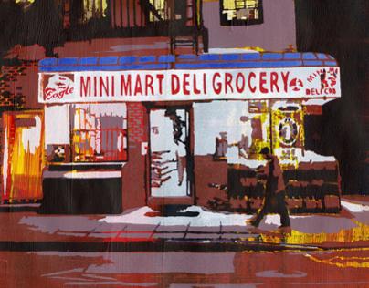 Mini Mart Deli Grocery