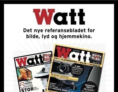 Annonser for Watt