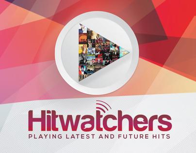 Hitwatchers Radio Show Visuals