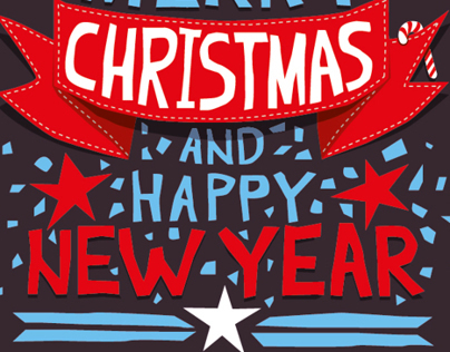 Merry Xmas & New Year Banners