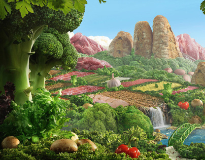 Vegetable Landscape