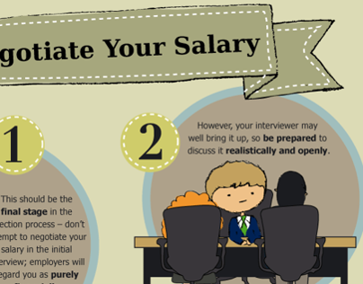 Infographic - Negotiate your Salary