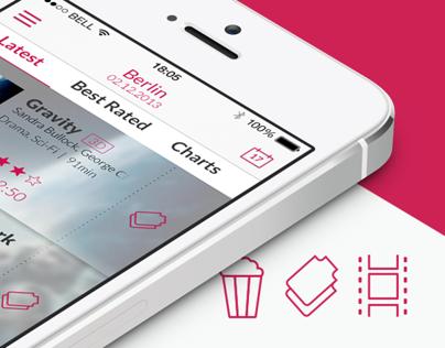 Cinemaxx Movie Theater - App Redesign