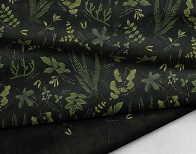 Herbarium   Textile Design Collection