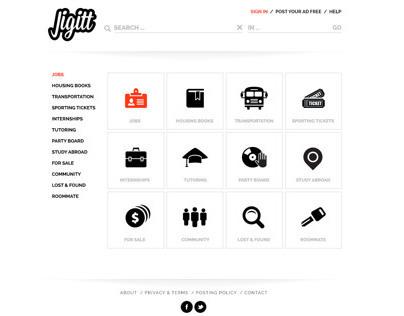 Website Design for Jigitt