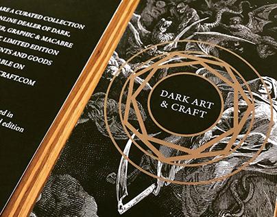 Dark Art & Craft Cards