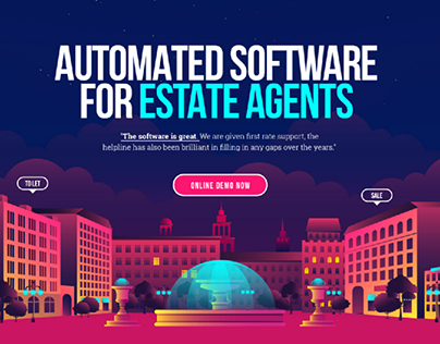 Real Estate Agent Software - Company Website