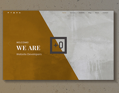 +0 Website Design - Home Page