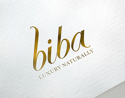 Biba Logo, Packaging & Website