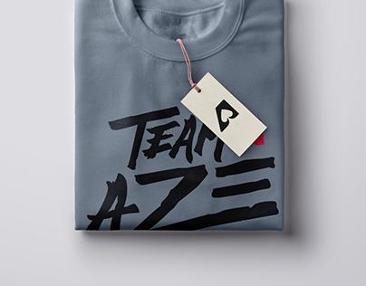 Team AZE - Merchandising