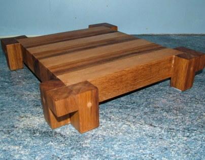 Recycled Teak & Mahogany Chopping Boards