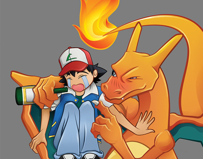 Go home Charizard, you're drunk.